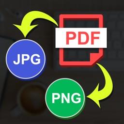 PDF to PNG JPG converter
