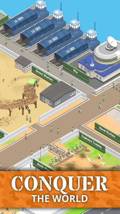 Idle Army Base: Tycoon Game screenshot-3