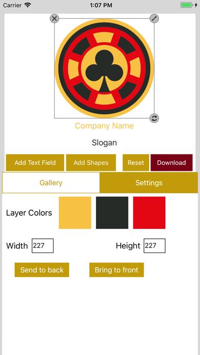 Easy Logo Maker - DesignMantic screenshot four