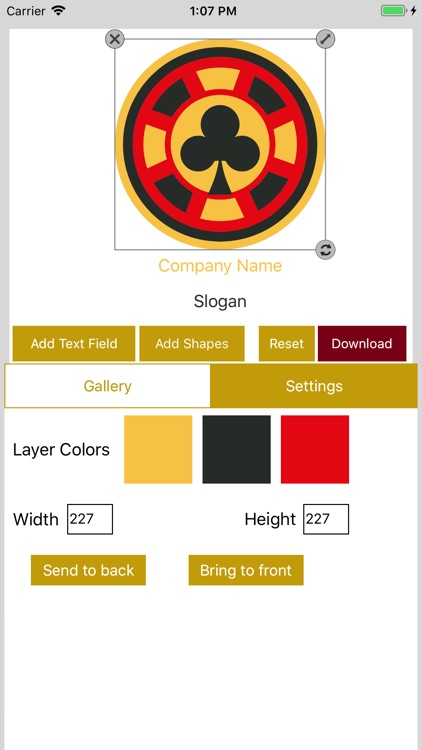 Easy Logo Maker - DesignMantic screenshot-3