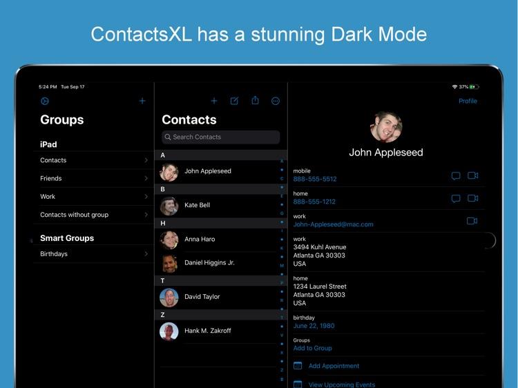 ContactsXL for iPad screenshot-5