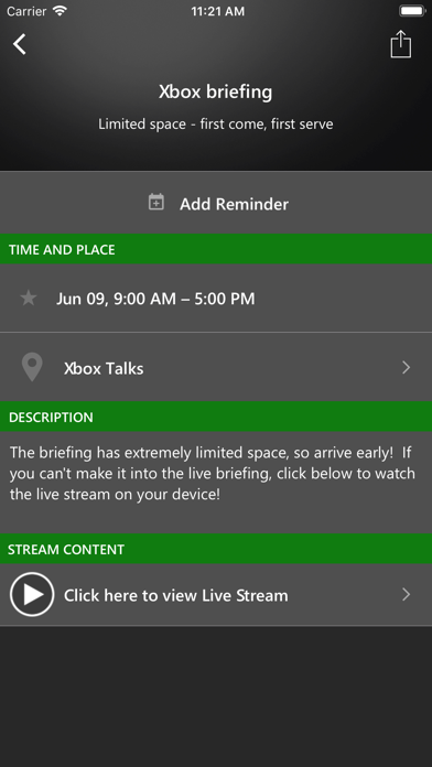 Xbox Events screenshot 4