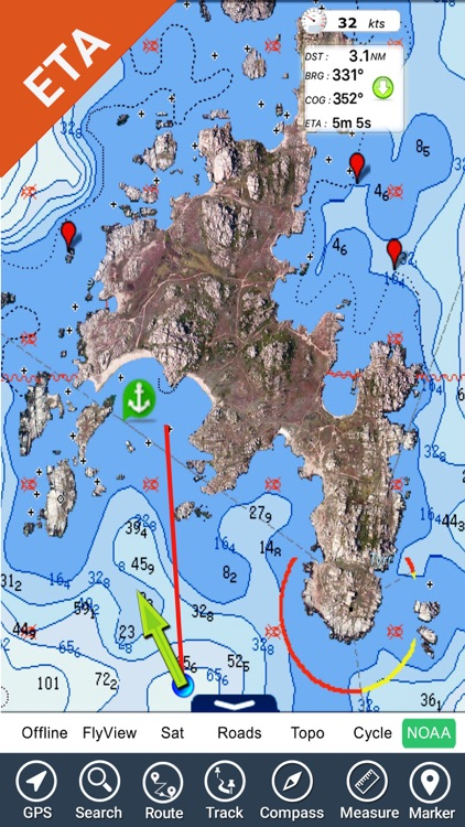 Florida Nautical Charts GPS HD screenshot-4
