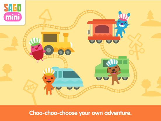 Sago Mini Trains screenshot 8