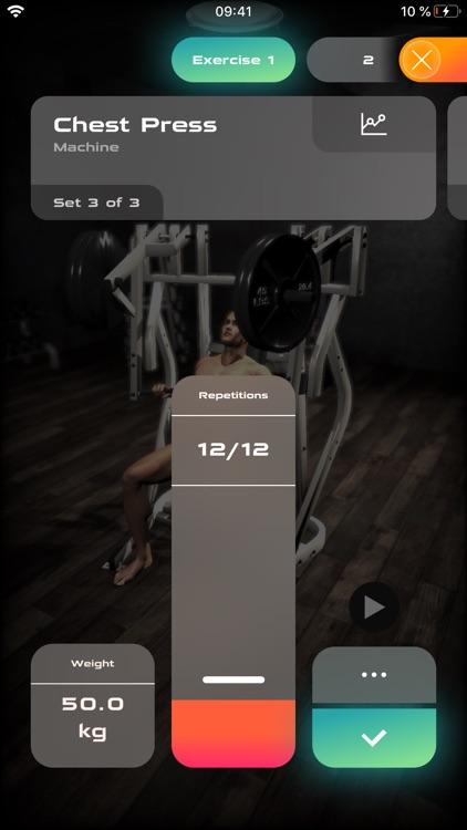 Gymnotize Fitness Workout App screenshot-4