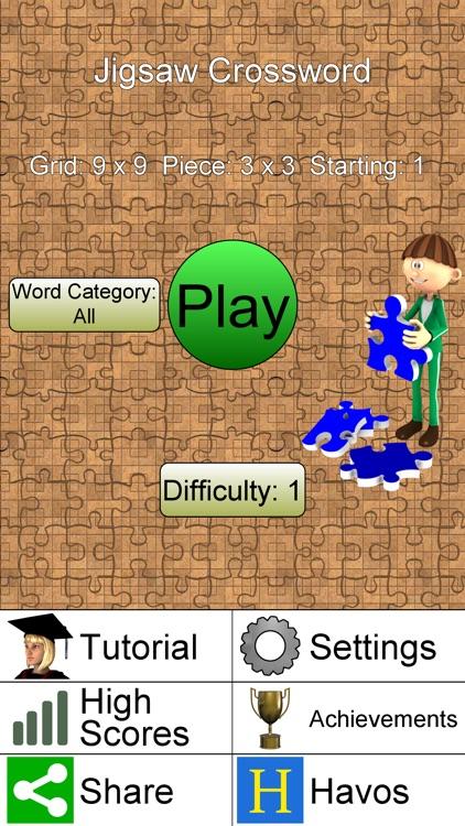 Jigsaw Crossword + screenshot-7