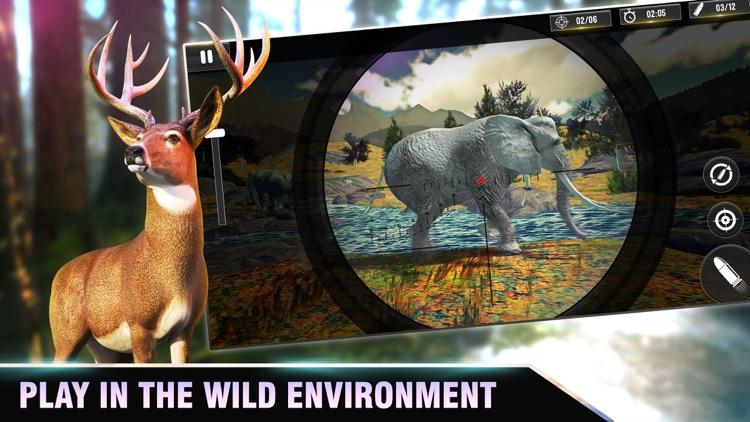 Deer Sniper | 3D Hunting Games screenshot-3