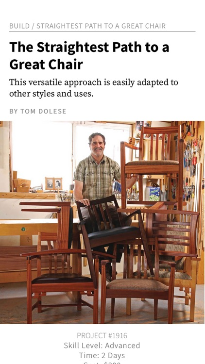 Popular Woodworking Magazine screenshot-3
