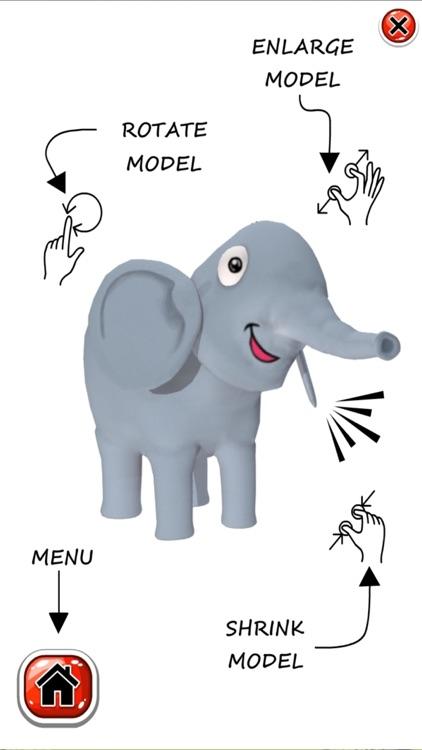 The Happy Baby Elephant AR screenshot-4