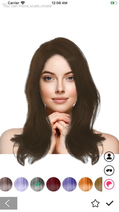 Hairstryle try on-Hair Salon screenshot #3