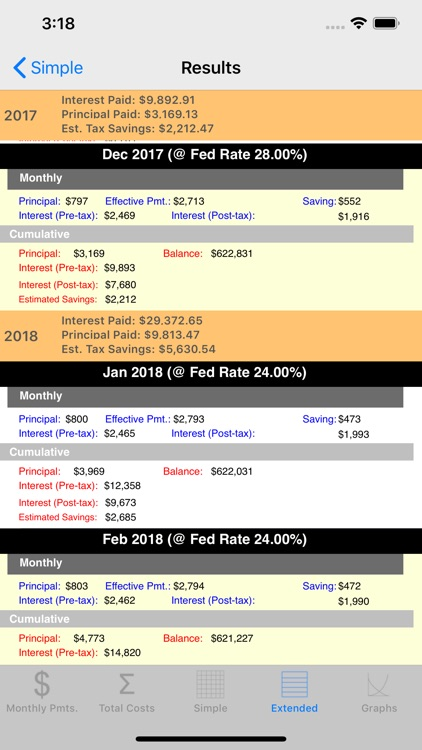 Loan Calculator & Tax Savings screenshot-6