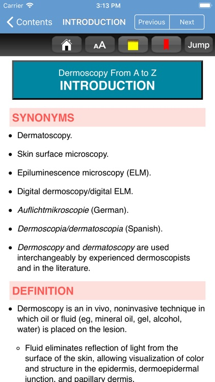 Dermoscopy Criteria Review screenshot-3