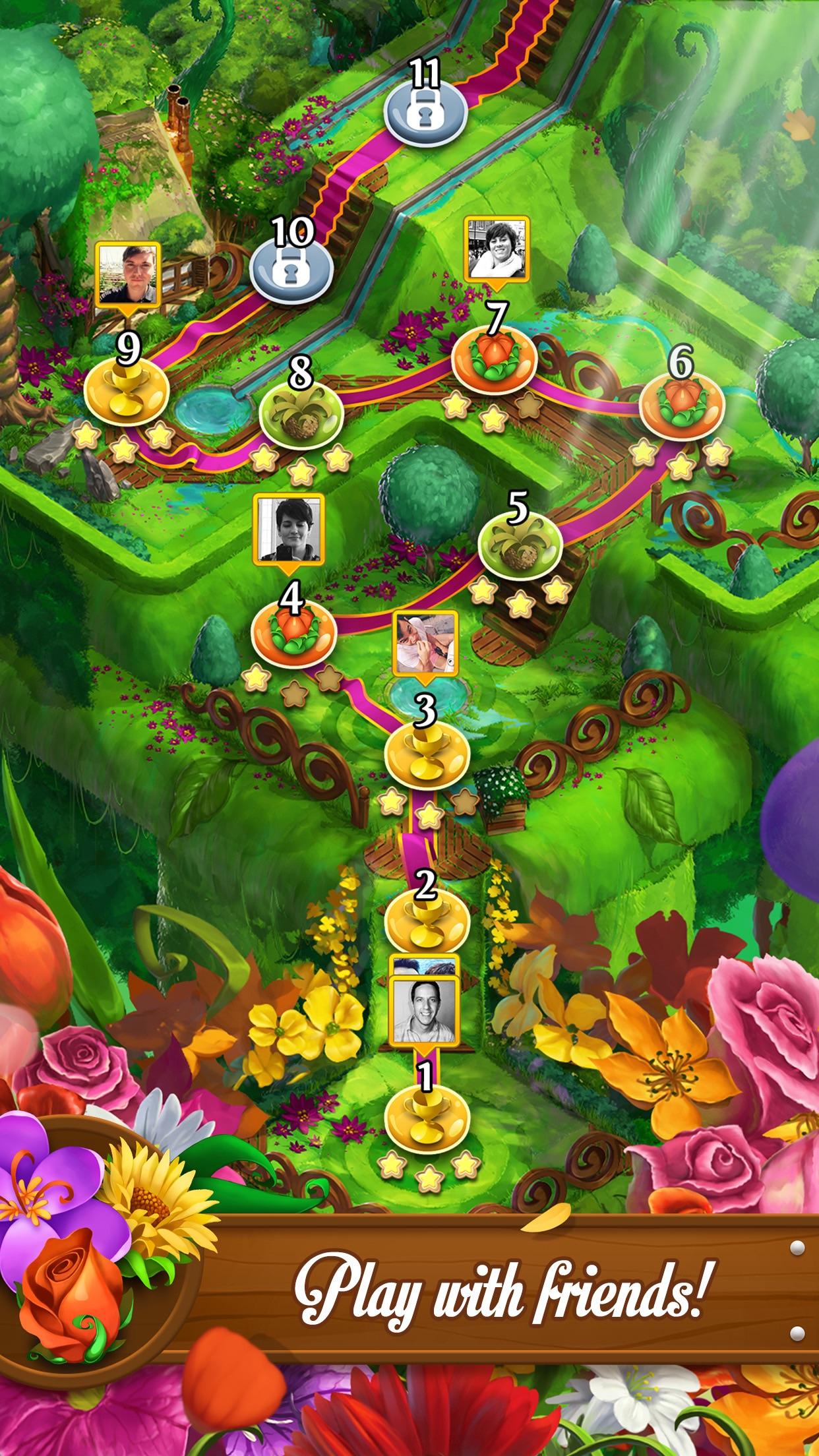 Blossom Blast Saga Screenshot