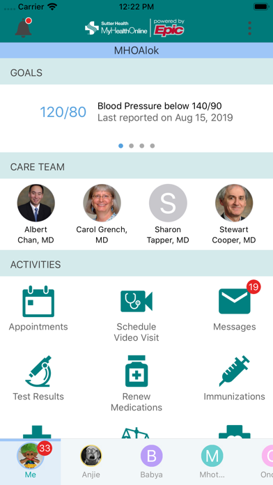messages.download Sutter Health My Health Online software