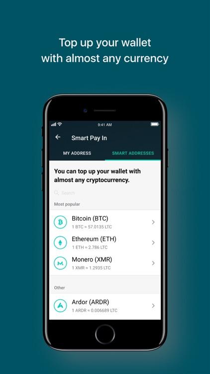 Litecoin Wallet by Freewallet screenshot-3