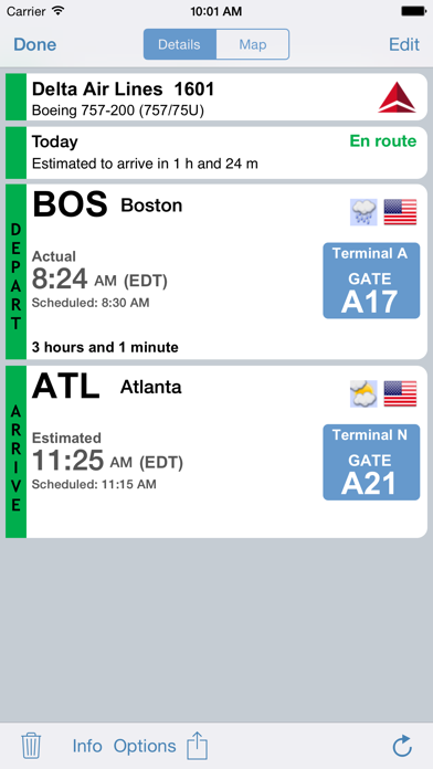Screenshot for Flight Update Pro in Belgium App Store