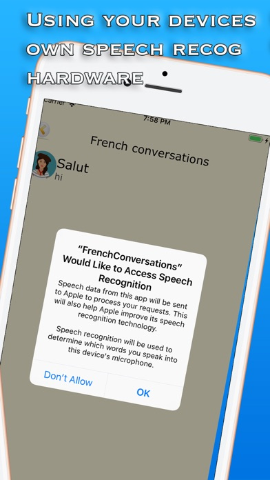 French Conversations screenshot 2