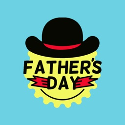 Fathers Day stickers for text