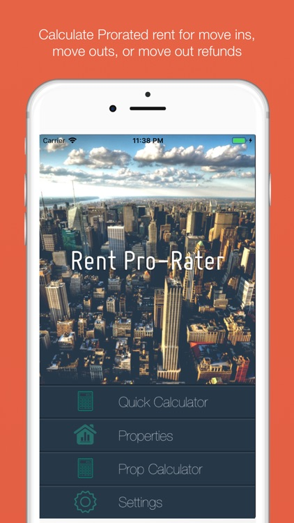 Rent Pro-Rater