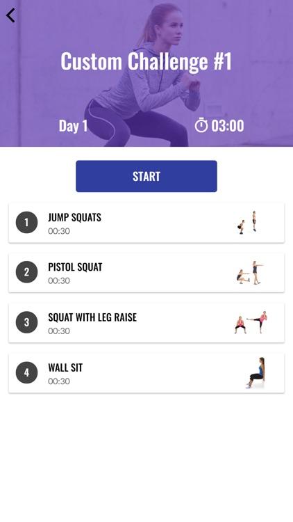 The 30 Day Squat Challenge screenshot-4