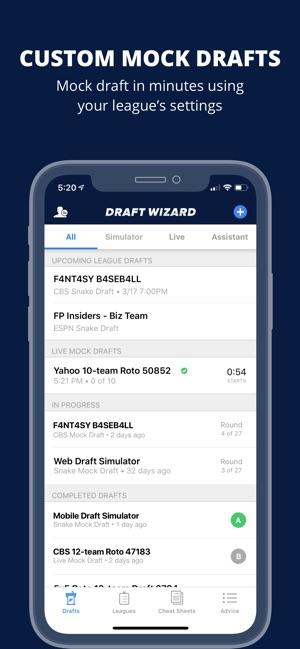 Fantasy Baseball Draft Wizard on the App Store