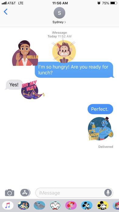 Disney Stickers: Aladdin Screenshot