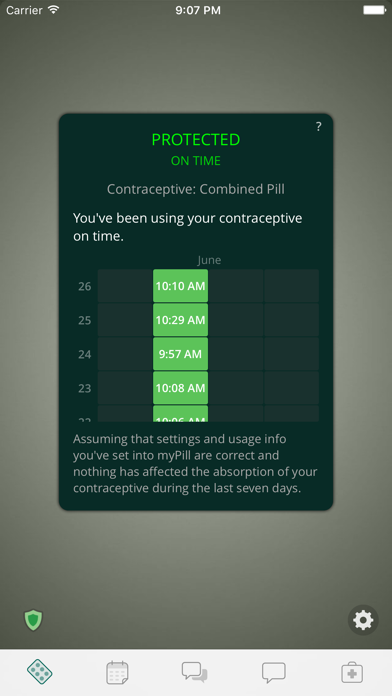 myPill® Birth Control Reminder Screenshot