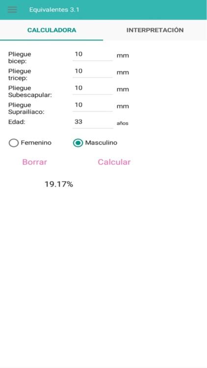 Equivalentes screenshot-3