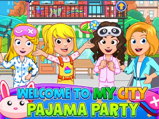 My City : Pajama Party screenshot 6