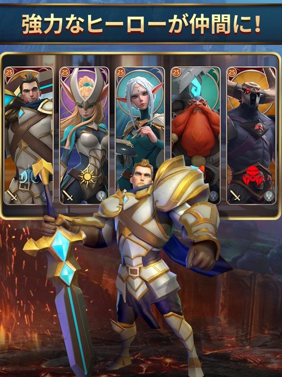 モバイルロワイヤル: バトル戦争RPGのおすすめ画像1
