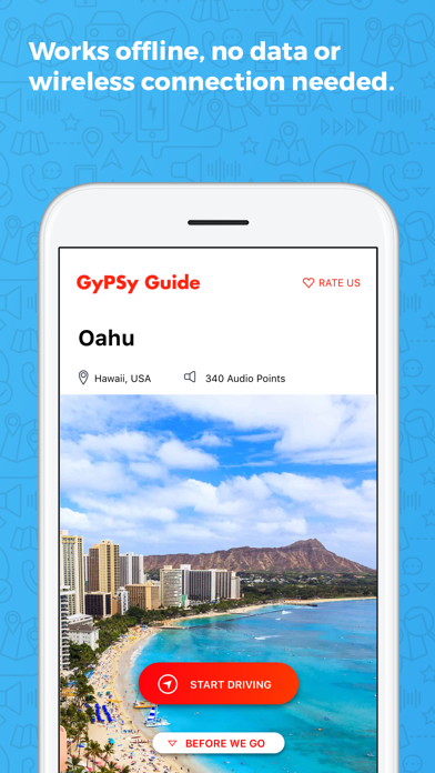 Oahu GyPSy Guide Driving Tour Screenshot