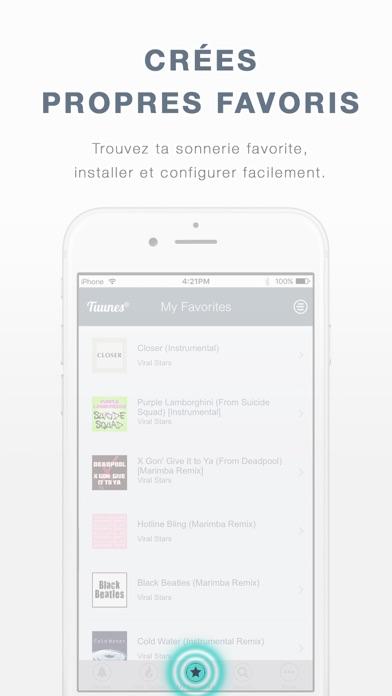 download TUUNES™ - Sonneries et Musique apps 6