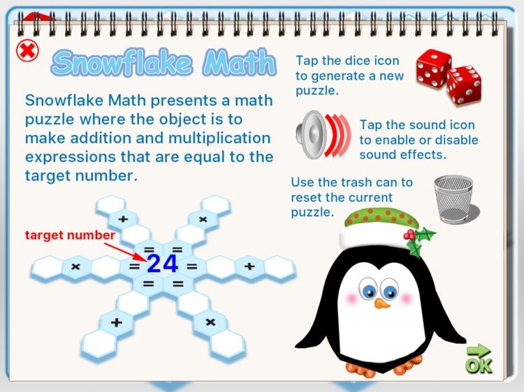 Snowflake Math screenshot-3