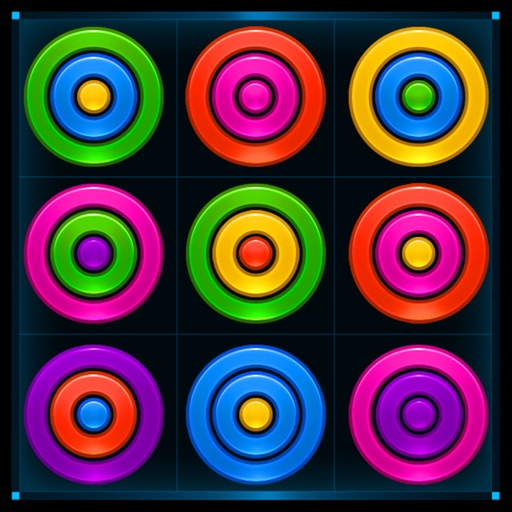 Glow Rings Puzzle