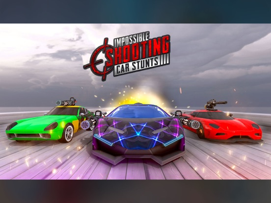 Crazy Shooting Car Stunts Sim screenshot 6