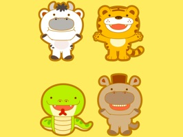 The MuoiHaiAniSt is a funny sticker which are designed with the cute animals