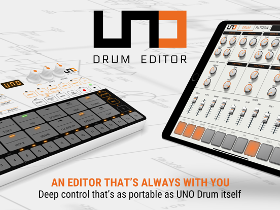 UNO Drum Editor screenshot 1
