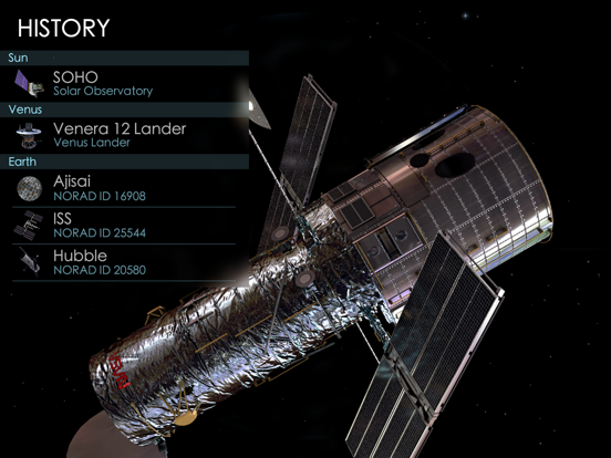 Solar Walk 2 – Spacecraft 3D Screenshots