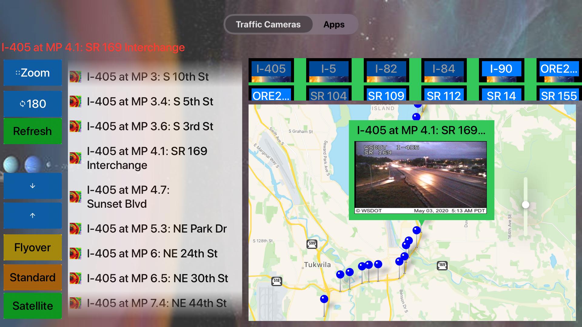Traffic Camera Washington Lite screenshot 16