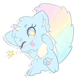Rainbow Cat Sticker Pack