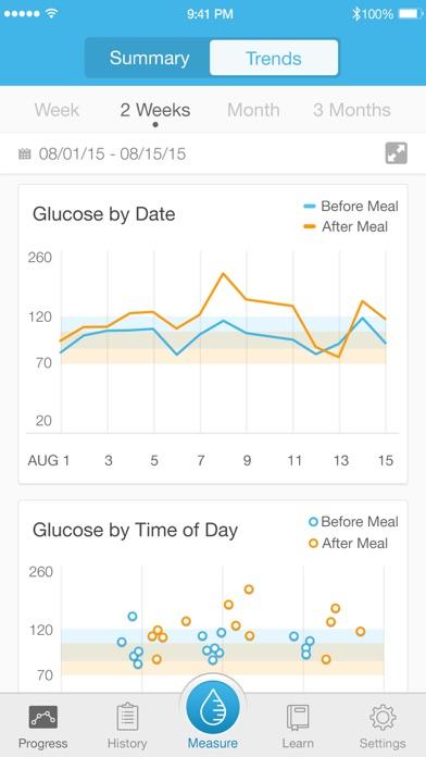 iHealth Gluco-Smart Screenshot on iOS