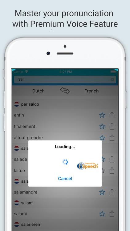 French Dutch Dictionary + screenshot-3