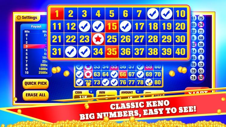 Keno Jackpot - Keno Games