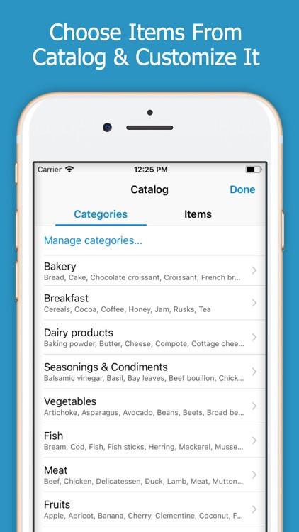 Shoppylist - Shopping List screenshot-4