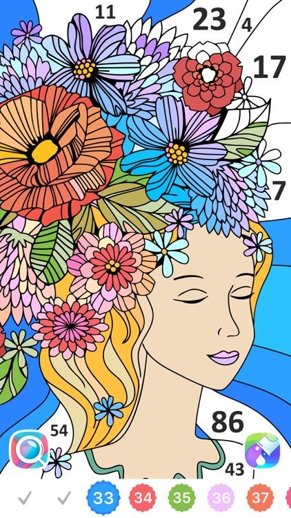 Line Art: Coloring book screenshot-0