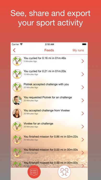 FitMob fitness audio mob game screenshot-4