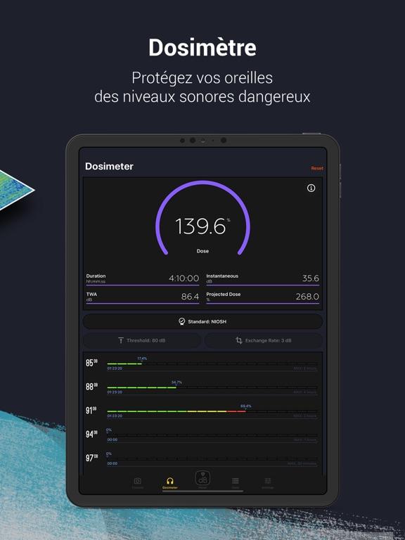 Décibel X PRO - dBA Sonomètre