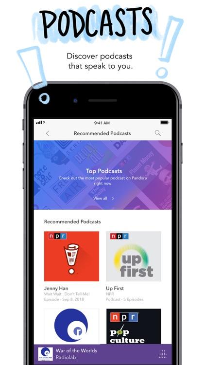 Pandora: Music & Podcasts screenshot-3