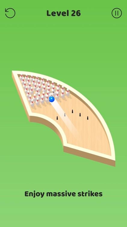 Mini Bowling! 3D screenshot-3