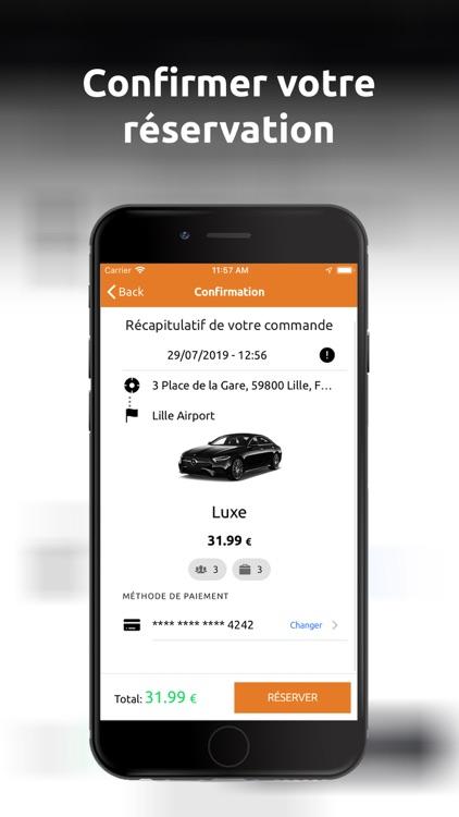 OhCab : Réserver Un VTC screenshot-6